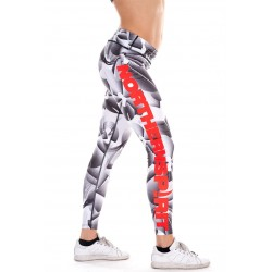 Legging Crossfit - Graphic Red NS