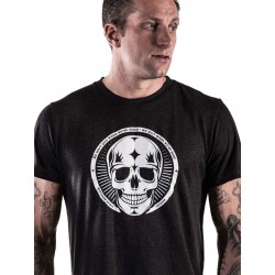 T-shirt black skull for men - NORTHERN SPIRIT