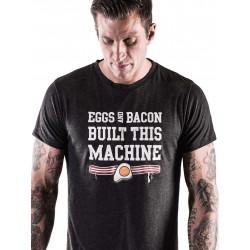 T-shirt Homme Noir Eggs & Bacon pour CrossFiteur - NORTHERN SPIRIT