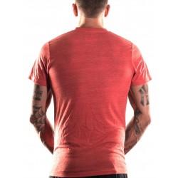 T-shirt Homme Rouge Burgers & Barbells pour CrossFiteur - NORTHERN SPIRIT