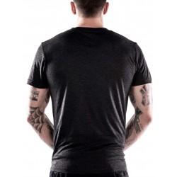 T-shirt Homme Noir American Skull pour Athlète - NORTHERN SPIRIT