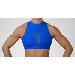 Brassière protège clavicule Bleu The Tiffany pour CrossFiteur - CHESTEE