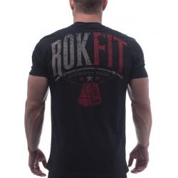 T-shirt Homme Noir Strenght & Honor pour CrossFiteur - ROKFIT