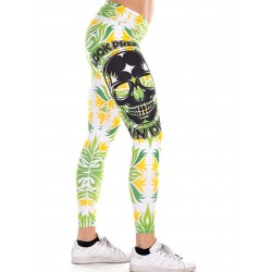 Legging Femme Vert Tropical Look Pretty pour CrossFiteuse - NORTHERN SPIRIT