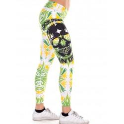 Boutique Legging vert Femme Crossfit - Tropical