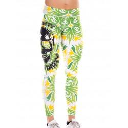 Legging Femme Vert Tropical Look Pretty pour CrossFiteuse - NORTHERN SPIRIT
