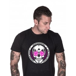T-shirt Homme Noir Flower Eyes pour CrossFiteur - NORTHERN SPIRIT