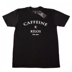 T-shirt Crossfit Homme Caffeine and Kilos - Logo T Black