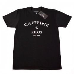 T-shirt Crossfit Homme Caffeine and Kilos - Logo T Black