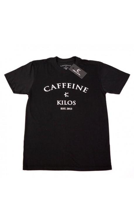 T-shirt entraînement Homme Caffeine and Kilos - Logo T Black