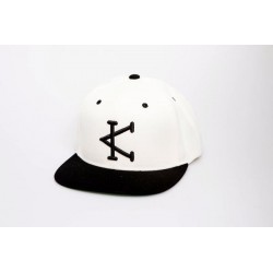 Casquette sport Caffeine and Kilos - Black & White