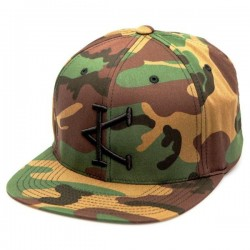 Green camo cap - CAFFEINE AND KILOS