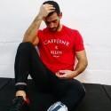Boutique sport T-shirt Caffeine and Kilos Rouge