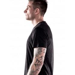 T-shirt Homme Noir Licorne pour Athlète - NORTHERN SPIRIT
