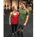 Boutique CrossFit Femme - Muscle Tank Caffeine ans Kilos Rouge