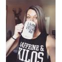 Boutique sport Femme - Muscle Tank Caffeine and Kilos Noir