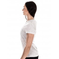 T-Shirt Femme Blanc Look Pretty pour Athlète - NORTHERN SPIRIT