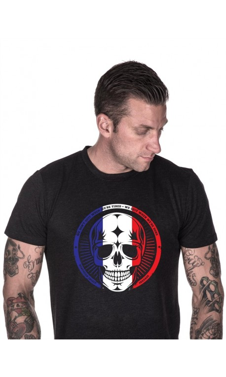 T-shirt sport homme northern spirit - French Skull