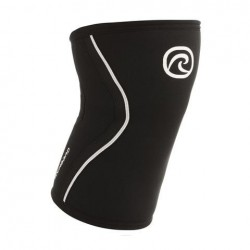 7 mm pair of Knee Sleeves Black - REHBAND
