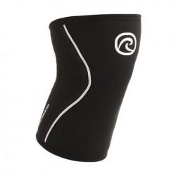 Genouilleres Noir 7 mm pour Athlète - REHBAND