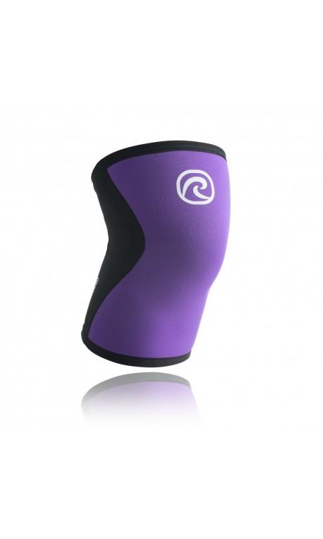 Genouillere sport Rehband 5mm Violet et Noir