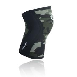 Genouilleres Vert Camo 5 mm pour Athlète - REHBAND