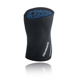 Genouilleres Noir 5 mm pour CrossFiteur - REHBAND