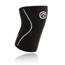 5 mm pair of Knee Sleeves Black - REHBAND