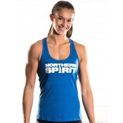 Débardeur Femme Bleu NS pour Athlète - NORTHERN SPIRIT