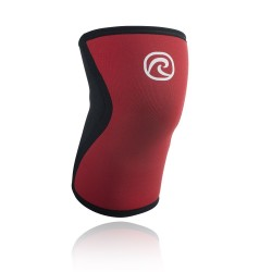 Paire Genouillères rouge Froning 5 mm pour Athlète - REHBAND