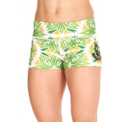Short Femme Vert Tropical pour CrossFiteuse - NORTHERN SPIRIT