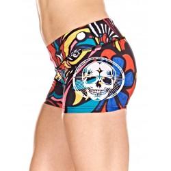 Boutique Short multicolor Femme Crossfit - Pop Art