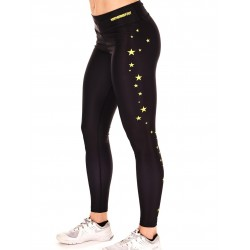 Legging Femme Noir Stars pour CrossFiteuse - NORTHERN SPIRIT