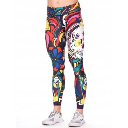 Legging Femme Multicolor Pop Art pour CrossFiteuse - NORTHERN SPIRIT