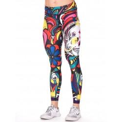 Legging Femme Multicolor Pop Art pour CrossFiteuse - NORTHERN SPIRIT