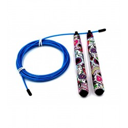 Workout jump rope multicolor MEXICAN SKULL– PICSIL