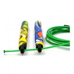 Corde à Sauter Multicolore GRAFFITI pour Athlète - PICSIL