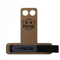 2 holes Brown Grips AZOR - PICSIL