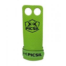 Maniques Vert AZOR grips 2 pour CrossFiteur - PICSIL