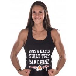 Boutique Débardeur noir Femme Athlète - Eggs & Bacon