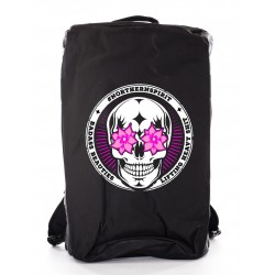 Sac de sport - BLACK BAG FLOWER EYES
