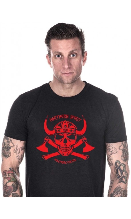 T-shirt crossfit homme northern spirit - Red Viking
