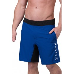 Training short cobalt blue for men - NASTY LIFESTYLE