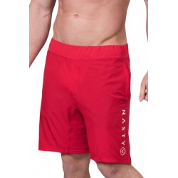 Short Homme Rouge pour Athlète - NASTY LIFESTYLE