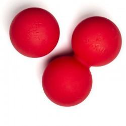 Lacrosse Balls - Balle de massage Rouge pour CrossFiteur - XOOM