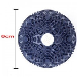Lacrosse Balls - Balle de massage Bleu moyenne pour Athlète - XOOM PROJECT