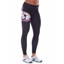 Legging Femme Noir Licorne pour CrossFiteuse - NORTHERN SPIRIT