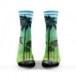 Chaussettes Multicolor Miami pour Athlète - WODABLE