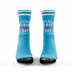 Blue workout Socks SQUAT DAY – WODABLE