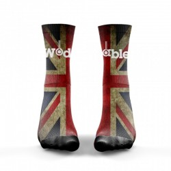 Chaussettes Multicolor English Flag pour CrossFiteur - WODABLE